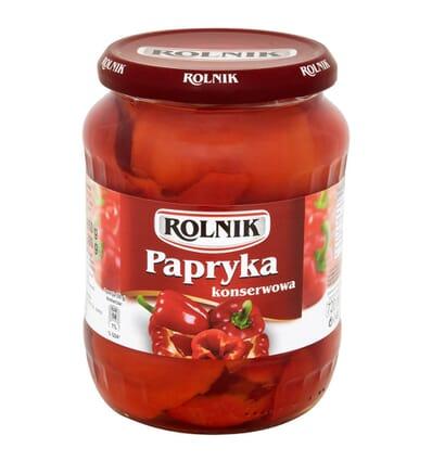 Rolnik Eingelegte Paprika 720ml