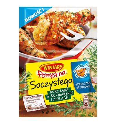 Winiary Pomysl na... saftiges Hähnchen mit Rosmarin und Kräuter