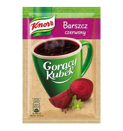 Soupe instantanée Goracy Kubek: Bortsch Knorr 14g