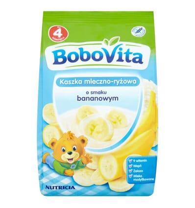 Milk and rice porridge banana flavour Bobovita 230g