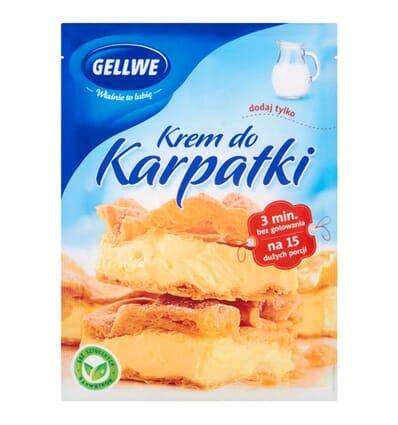 Crème pour mille-feuille (Karpatka) Gellwe 145g