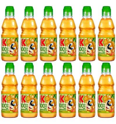 12x Apple juice GO! Kubus 300ml
