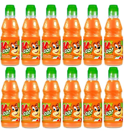 12x Jus carotte pomme orange GO! Kubus 300ml