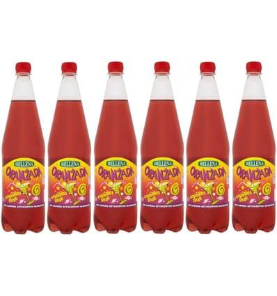 6x Hellena rote Orangeade 1,25l