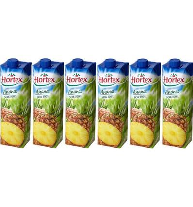 6x Hortex Apricose Nektar 1l