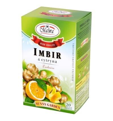 Ginger and lemon infusion Malwa 20 bags