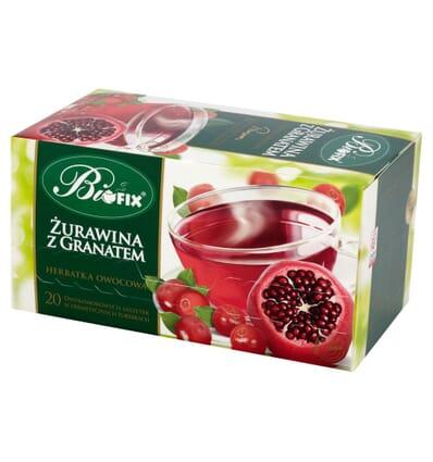 Bifix Moosbeere mit Granatapfel Tee 20 Beutel