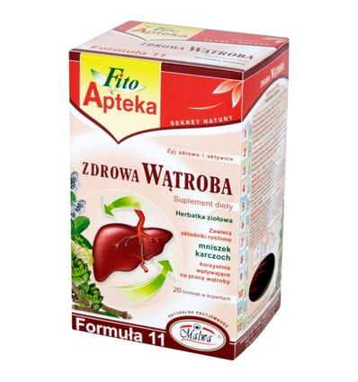 Fito Apteka herbal tea for a healthy liver Malwa 20 bags