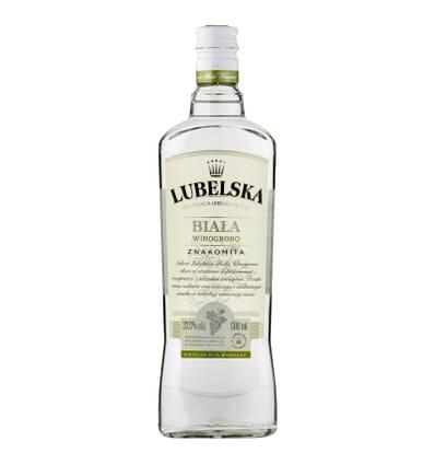 Lubelska white vodka grape flavour 37.5% 500ml