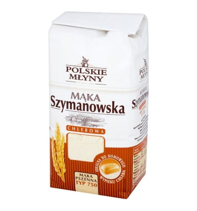 Szymanowska bread flour type 750 Polskie Mlyny 1kg