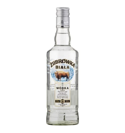 Zubrowka biala (weiß) Wodka 40% 500ml