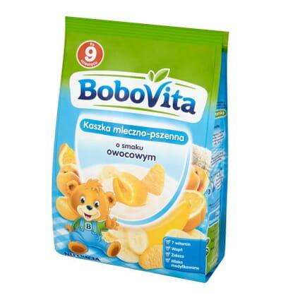 Bobovita Milch-Weiz-Grießbrei Frucht 230g
