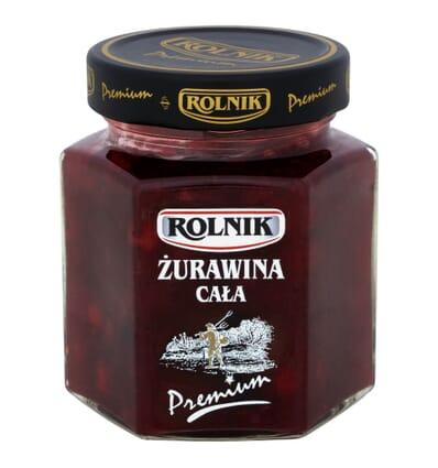 Whole cranberries Rolnik 300g