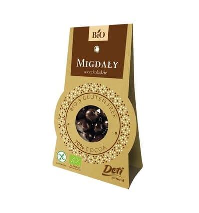 Doti Mandeln in Schokolade (70%) 50g