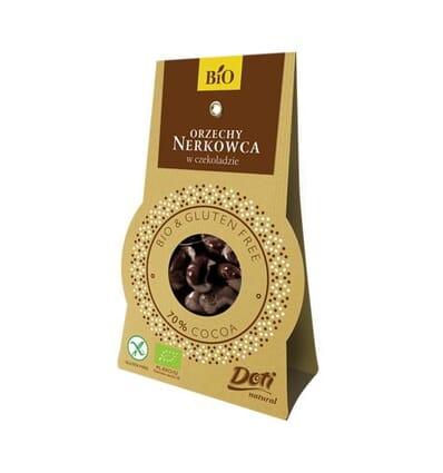 Chocolate-covered (70%) cashews Doti 60g