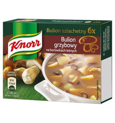 Mushroom broth seasoning Knorr 6 cubes