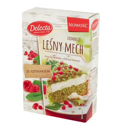 Spinach cake Lesny Mech Delecta 410g