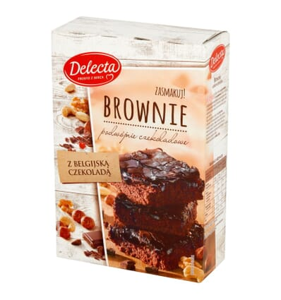 Brownie cake Delecta 550g