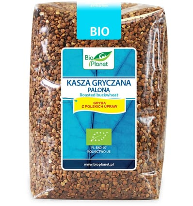 Roasted buckwheat groats Bio Planet 1kg