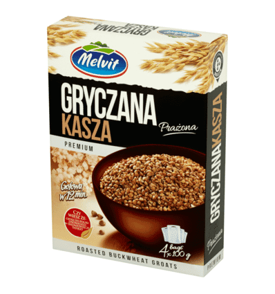 Roasted buckwheat groats Melvit 400g