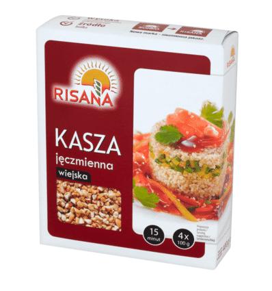 Barley groats Risana 4x100g