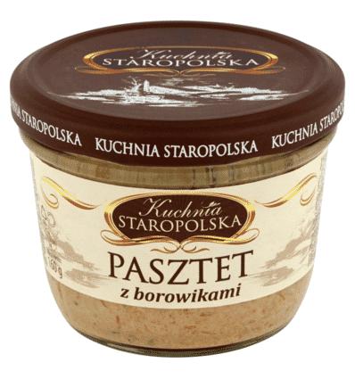 Kuchnia Staropolska Pastete mit Steinpilzen