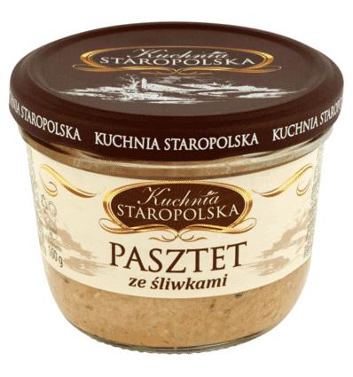 Kuchnia Staropolska Pastete mit Pflaumen 160g