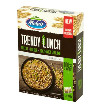 Melvit Trendy Lunch Gerstengrütze Peczak, Bulgur und grüne