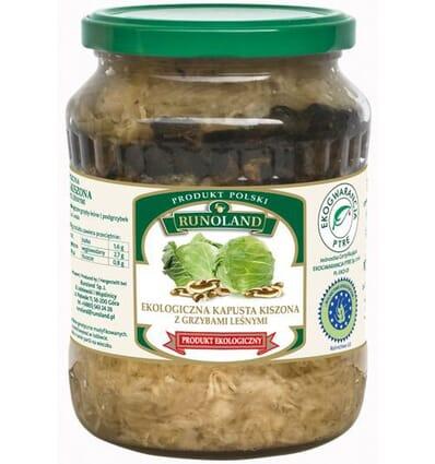 Choucroute aux champignons bio Runoland 680/410g