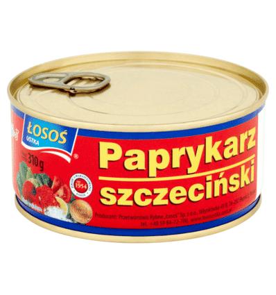 Paprykarz szczeciński Łosoś 310g