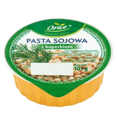 Pasztet pasta sojowa z koperkiem Orico 105g