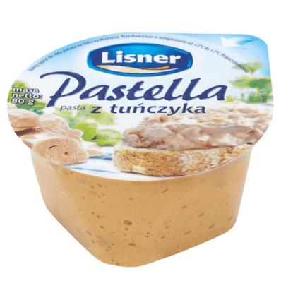 Pâte de thon Pastella Lisner / Seko 80g