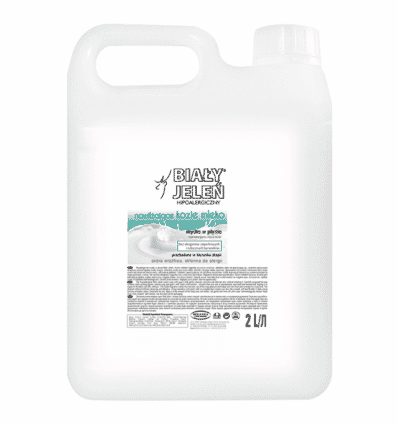 Lotion hypoallergénique hydratante au lait de chèvre Bialy
