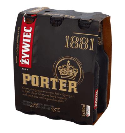 6x Bière Zywiec Porter en bouteille 330ml
