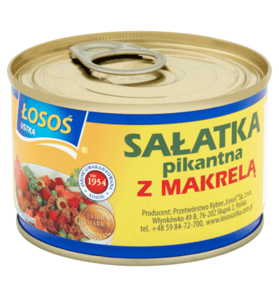 Losos Fischsalat mit Makrele 170g