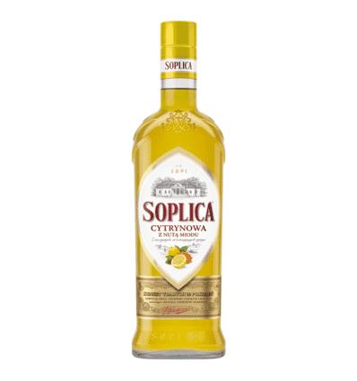 Nalewka Teinture alcoolique au citron et au miel 30% Soplica