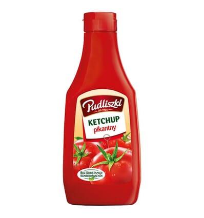 Hot ketchup Pudliszki 480g