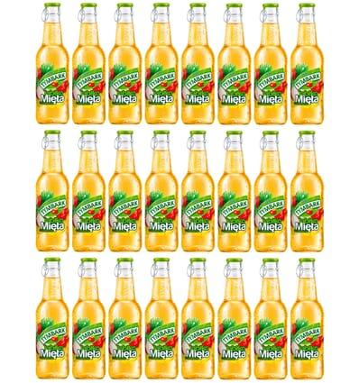 24x Apple-mint drink Tymbark 250ml
