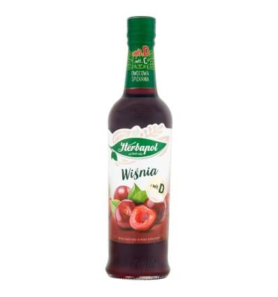 Cherry syrup Herbapol 420ml