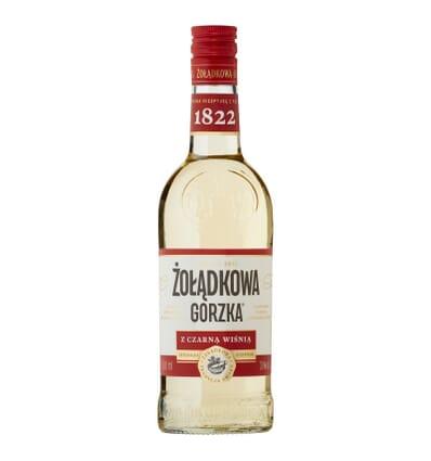 Zoladkowa gorzka liqueur with black cherry 30% 500ml