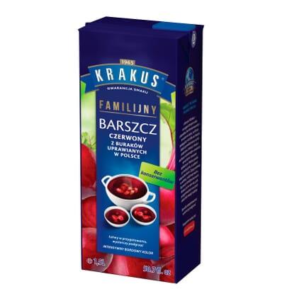 Zupa Barszcz czerwony Krakus 1.5l