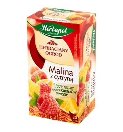 Herbapol Himbeere mit Zitrone Tee 20 Beutel