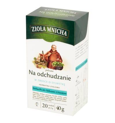 Ziola Mnicha herbal tea for weight loss 20 bags