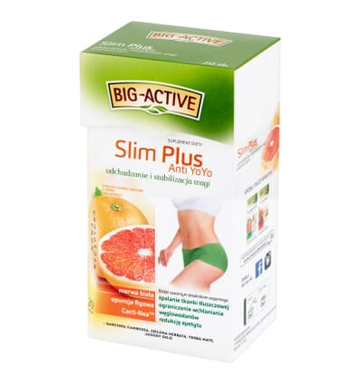 Slim Plus Anti YoYo tea Big-Active 20 bags