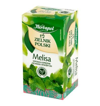 Zielnik Polski lemon balm infusion Herbapol 20 bags