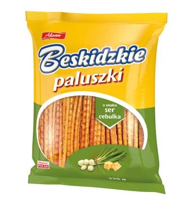 Sticks fromage et ognon Beskidzkie 220g