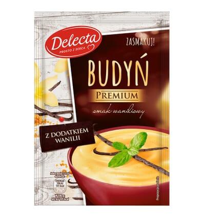 Pouding à la vanille Premium Delecta 47g