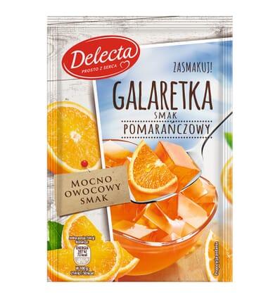 Delecta Götterspeise mit Orangengeschmack 75g