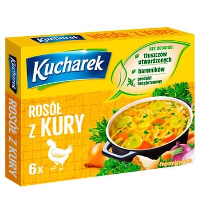 Chicken broth spice mix Kucharek 6 cubes 60g