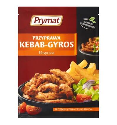 Mélange d'épices pour kebab et gyros Prymat 30g